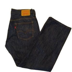 Levi's 569 Straight Fit Jeans Men's 32 x 32 Dark